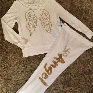 Victoria secret jogging suit